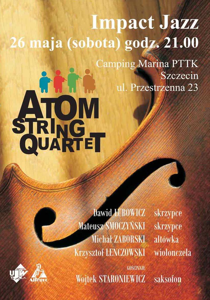 Koncert Atom String QuartetAtom String Quartet in concert