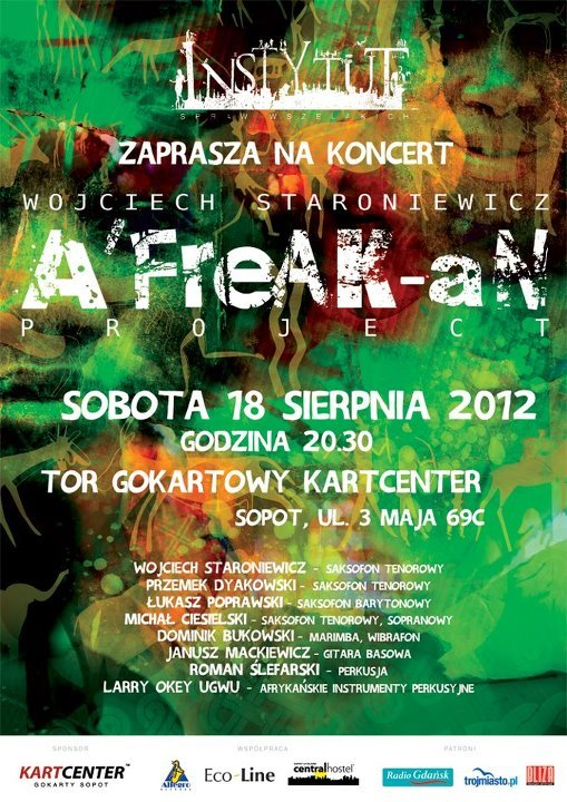 "Koncert 18.08.2012 ""A'FreAK-aN Project"""