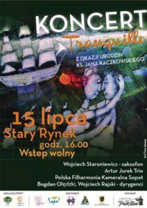 Koncert Polskiej Filharmonii Kameralnej Sopot w Pucku-PLAKAT mały